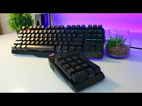 The Coolest Keyboard I Have EVER Used ($250) - ASUS ROG Claymore Review