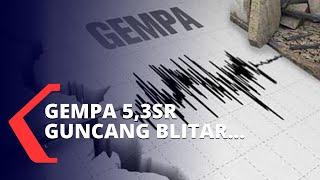 Gempa 5,3sr Guncang Blitar, Bmkg Imbau Warga Untuk Tetap Waspada
