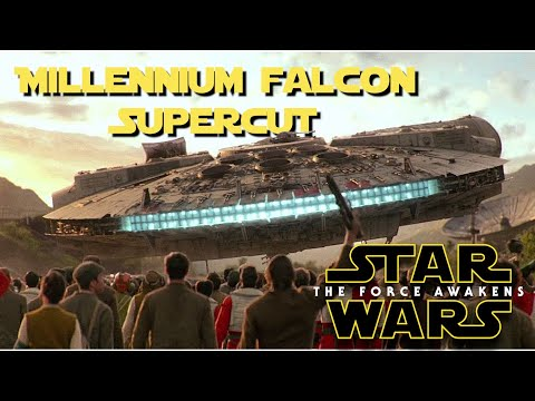 The Force Awakens: Millennium Falcon Supercut