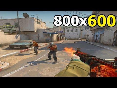 800x600 РАЗРЕШЕНИЕ CS:GO