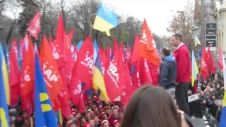 Vitali Klitschko at Opposition Rally Outside Verkhovna Rada (3/4)