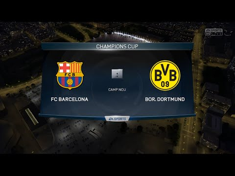Fifa 15 BVB Karriere |FC Barcelona vs. BVB| #015-Let's Play Fifa 15 [Deutsch|HD+]