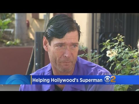 Fans Help Hollywood Boulevard's Original 'Superman' Fight Back From Homelessness