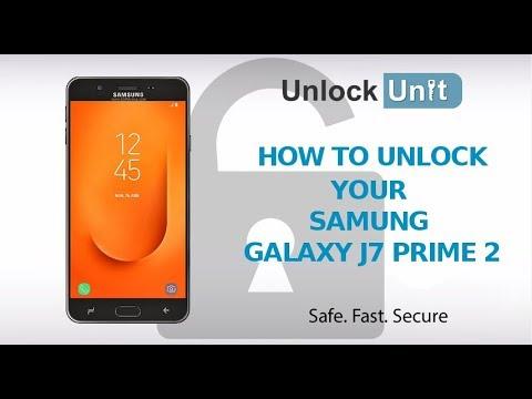 How to unlock Samsung Galaxy J7 Prime 2 Using Unlock Codes