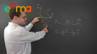 Linear Algebra 3b3: Decomposition with Geometric Vectors 3