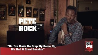 Pete Rock - Dr. Dre Made Me Step My Game Up, We Had A Great Session (247HH Exclusive)