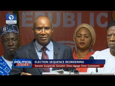 Senate Suspends Senator Omo-Agege Over Comment Pt 1 | Politics Today |