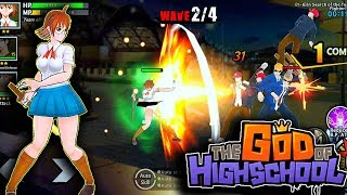 [Android/IOS] G.O.H - The God of Highschool - English Version Gameplay