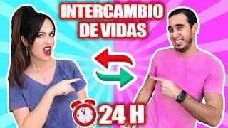 😱 INTERCAMBIO DE VIDAS por 24 HORAS 🔥 Cambio de Cuerpo con Producción! HaroldArtist SandraCiresArt