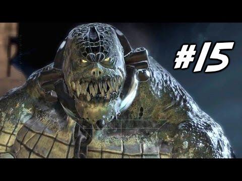 Batman Arkham Asylum #15 NOS ESGOTOS COM KILLER CROC PS4 Gameplay em PT-BR