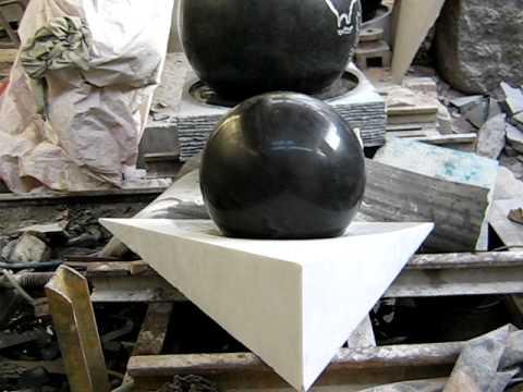 Fuentes esfera youtube - Fuentes de marmol para jardin ...