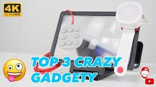 🇨🇳 TOP 3 Crazy Gadgety z Číny! | #WRTECH [4K]