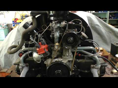 Classic VW Beetle Bugs How to Check Engine Compression Motor
