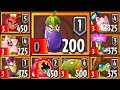 Plants Vs Zombies 2 - New Eggplant Ninja Sky City World Endless Mode Gameplay HD