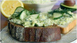 Сытная и вкусная закуска 🥑 намазка из авокадо для бутербродов