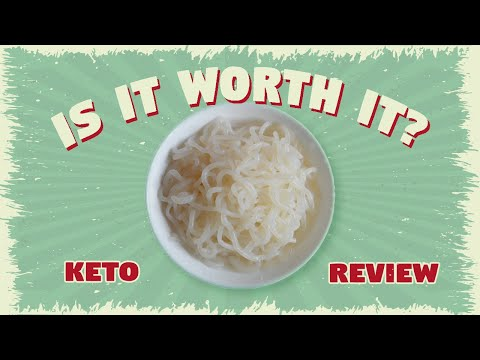 IS IT WORTH IT? Shirataki Noodles (白滝) || Keto Review
