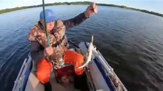 Рыбалка в Латвии на судака!Озеро Рушону.На Рыбалку,для души!!!