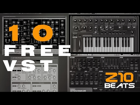 FREE VST PLUGINS for FL Studio - My favorite 10 with