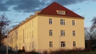 Former Wharton Barracks in Heilbronn. Last original buildings. 14.11.2010