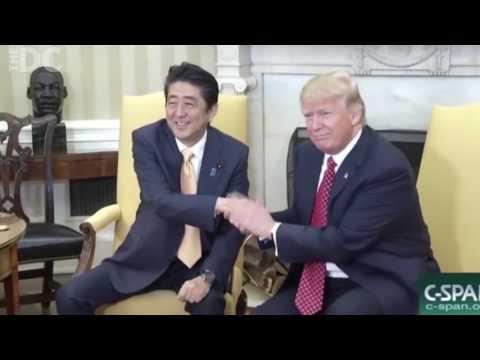 Trump Handshake Montage