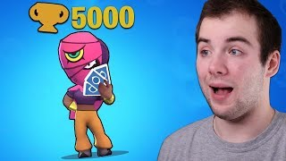GRAM Z GRACZEM Z 5000 PUCHARKÓW!  - BRAWL STAR