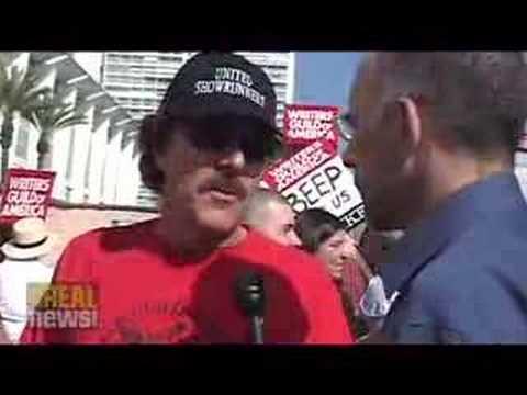 Writers Guild of America on strike