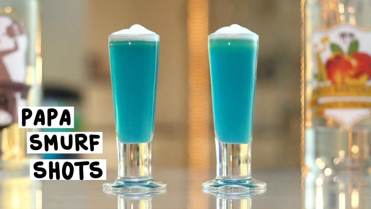 Papa Smurf  Tipsy Bartender