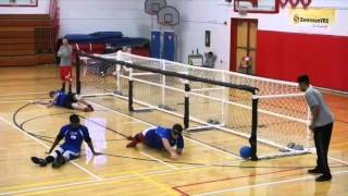 Unique sound of goalball during Parapan Am Games