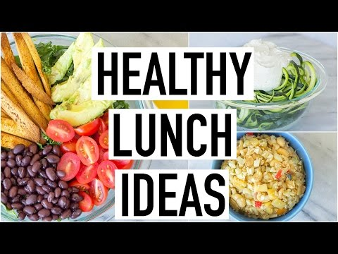 HEALTHY LUNCH IDEAS! Easy & Yummy! Cooking With Liv Ep.19