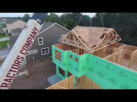 Carpentry Contractors Prefab Wall & Floor Panel Framing