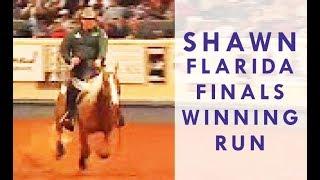 NRHA Reining Futurity - Shawn Flarida Championship Ride