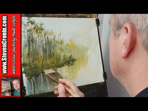 Painting Reflections in Watercolour