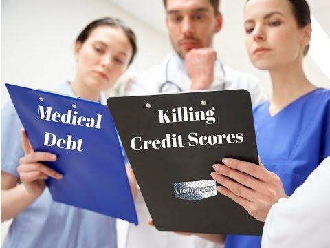 Medical Debt Credit Report Collection Help
