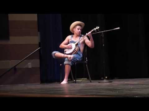 Hillbilly Banjo Player in the Talent Show