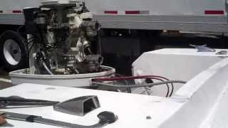 1977 Chrysler 105HP Outboard Video