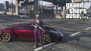 GTA 5 - Creating the Joker's Car