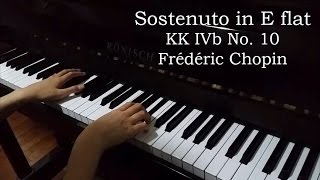 Sostenuto in E flat KK IVb No. 10 (Chopin)
