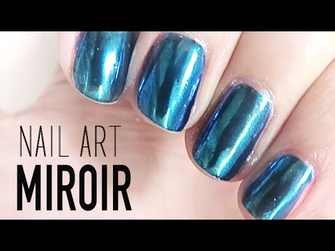 Shiu li youtube for Vernis miroir argent
