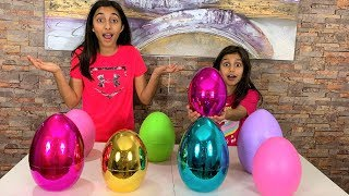 Don't Choose the Wrong Easter Egg Slime Challenge