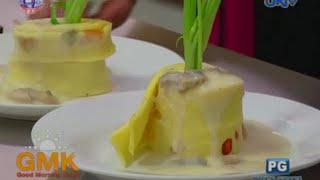 What's For Breakfast: Baked Omelet Roll W/ Mushroom Sauce