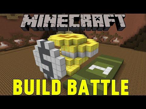 Minecraft   EN HÖG MED PENGAR & NETHER   Team Build Battle Minigame på Svenska