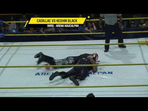 Cadillac vs Keshin Black, en IWRG Arena Naucalpan