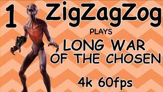 XCom 2 War of the Chosen Featuring: Long War of the Chosen 1.0 beta 1 - Episode 1 (4k 60fps)