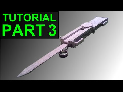How to Build the (Assassin's Creed) Paper Full Size Dual-Action Hidden Blade (Part 3)