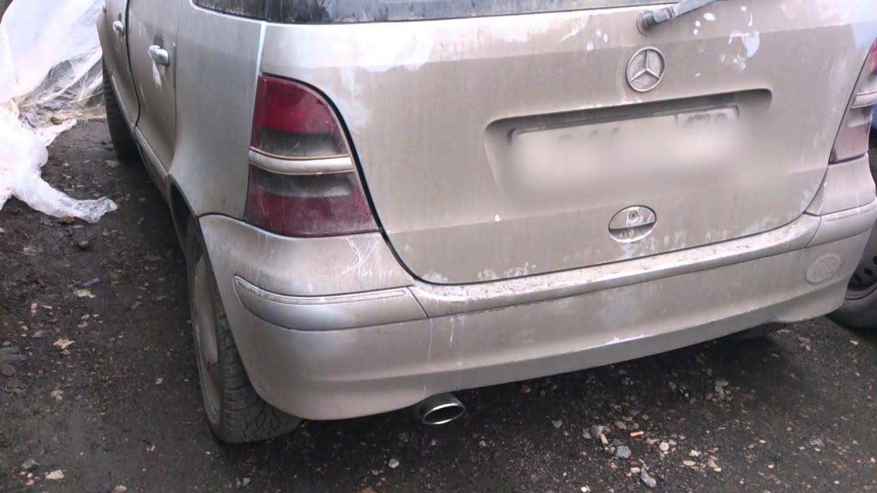 """Mersedes-Benz A 160 - """"настоящее немецкое качество"""""""