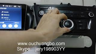 Ouchuangbo car stereo radio for Faw Besturn X80 Android 6 0 system 2