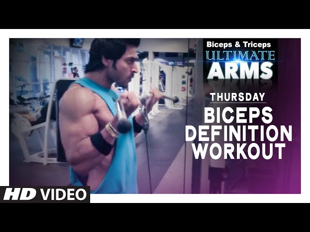Thursday: BICEPS DEFINITION WORKOUT   Ultimate Arms   by Guru Mann