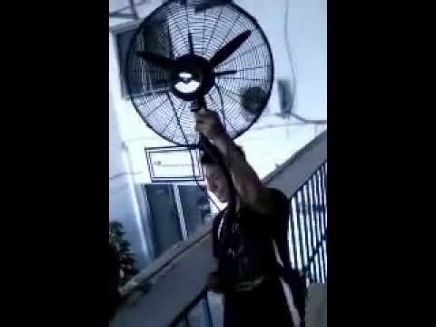 Cara Memasang Kipas Angin Blower Dinding - YouTube