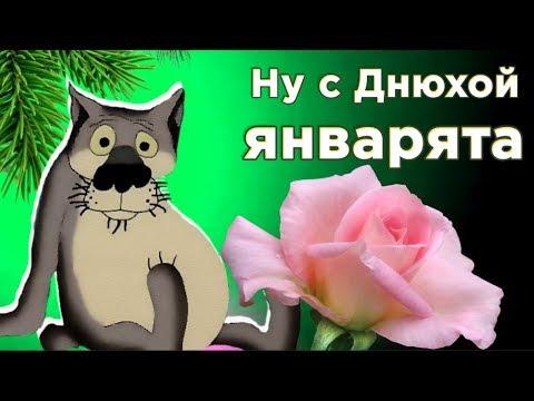С Днем рождения в ЯНВАРЕ ! Смешное  поздравление от ВОЛКА  с днюхой  январятам. #Мирпоздравлений