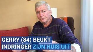 Oud-worstelaar Gerry (84) beukt indringer zijn huis uit